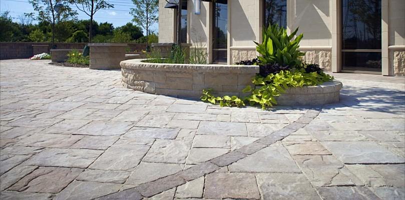 landscape concrete pavers | Outdoor Living by Belgard