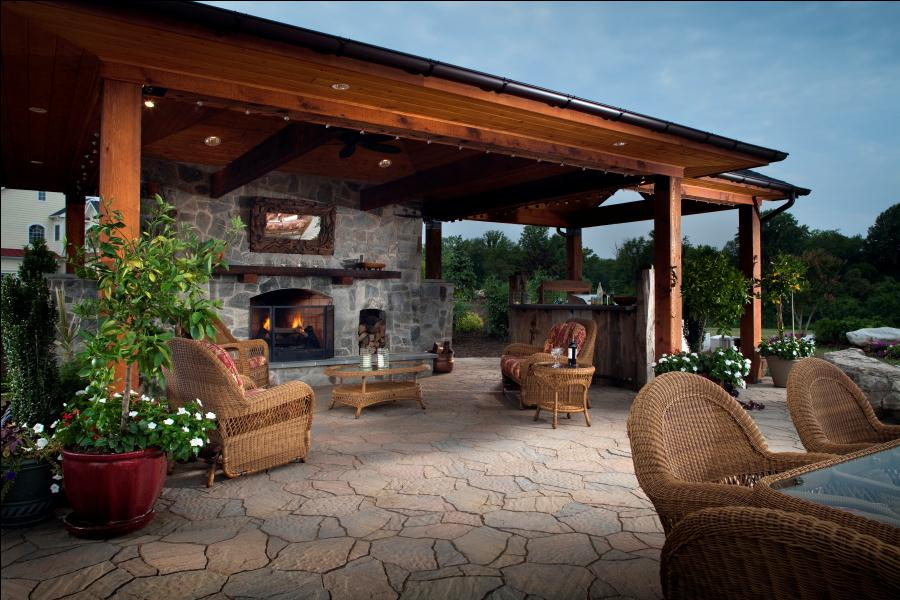 Kitchens Design Backyards Pools Outdoor Living Room
