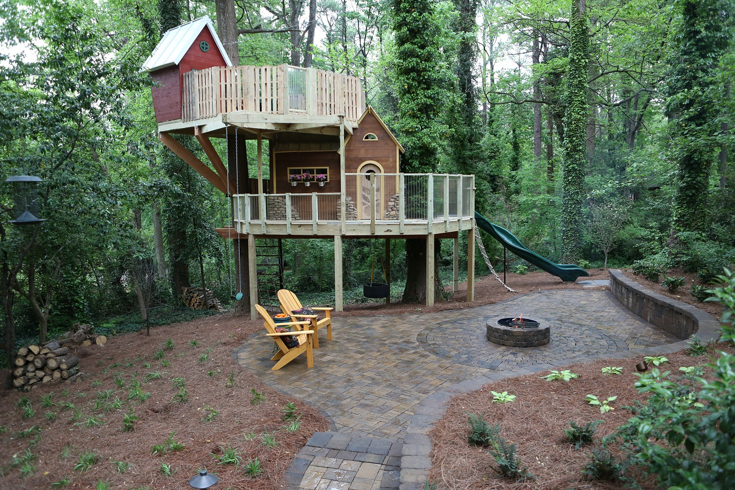 Diy Wood Playset Plans Woodguides