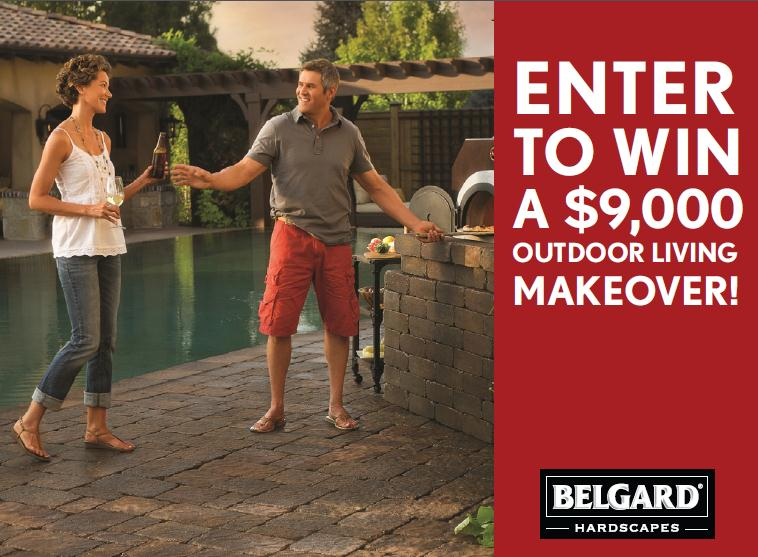 Enter to Win a $9,000 Outdoor Living Makeover from Belgard
