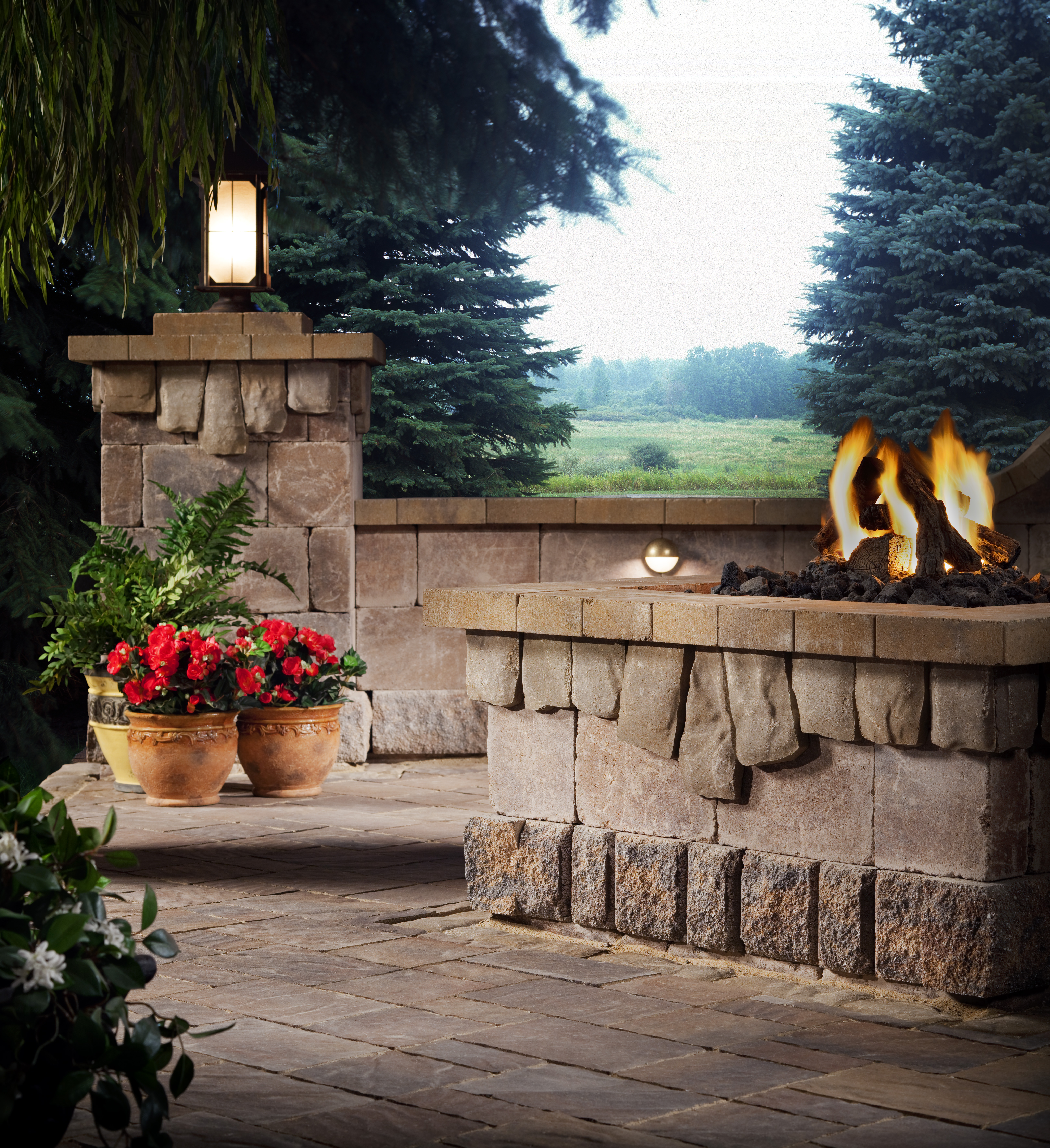 Extending Your Outdoor Season with the Elements Collection ... on Belgard Outdoor Living id=25317